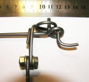 КП-250. Насторожка,  рамки,  пружины,  скобы. Капкан,  крысоловка. КП-120